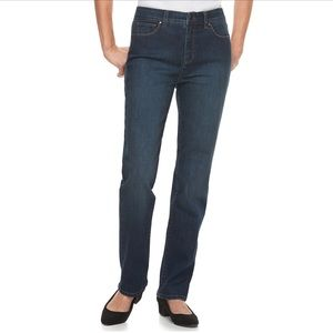 CROFT & BARROW Classic Stretch Straight Leg Jeans